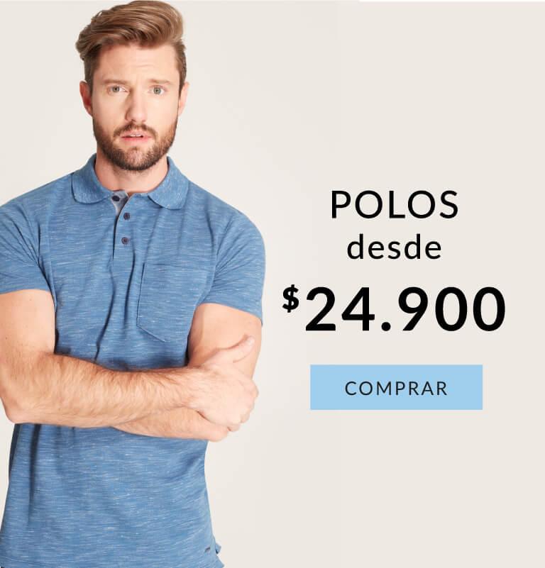 Hasta el 70% en camisas hombre