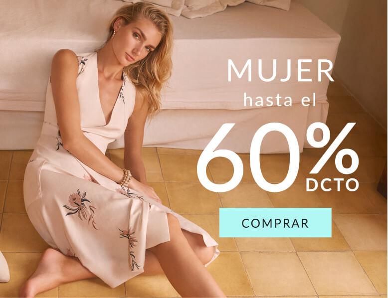 Hasta el 70% de dcto en ropa de mujer