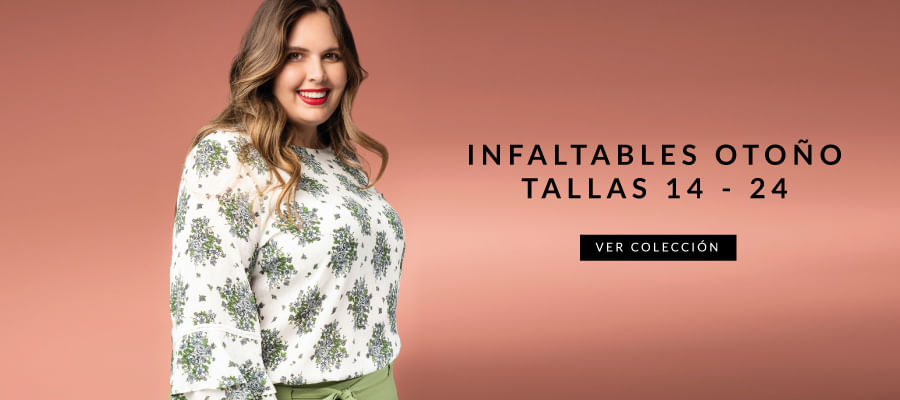Infaltables otoño tallas 14-24