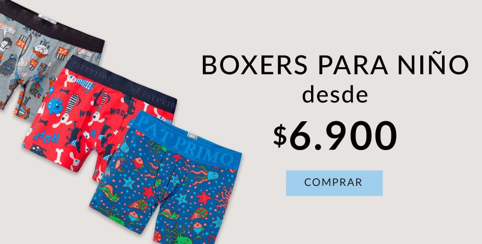 Boxers para niño desde 6.900$