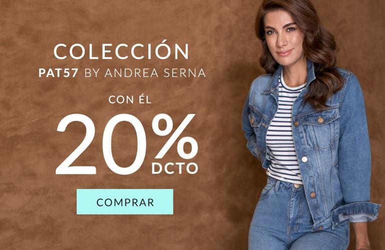 Colección PAT57 Andrea Serna 20% dcto