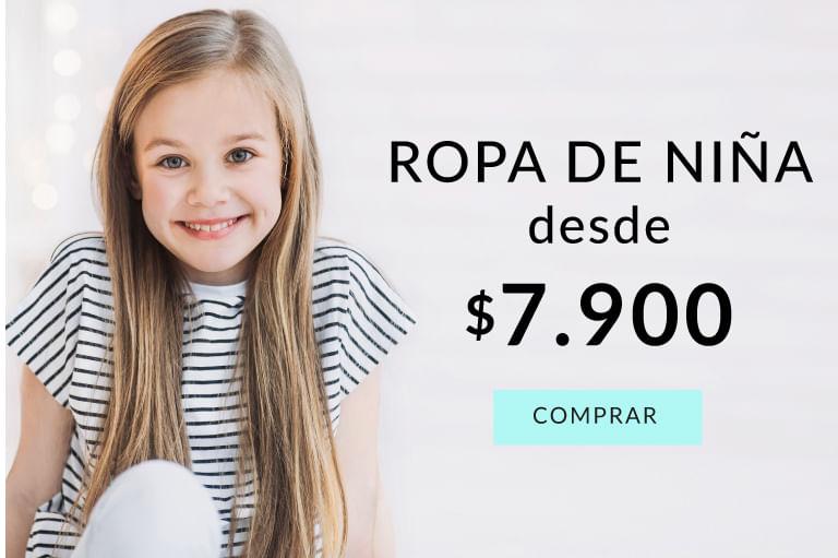 Ropa de niña desde 7.900$