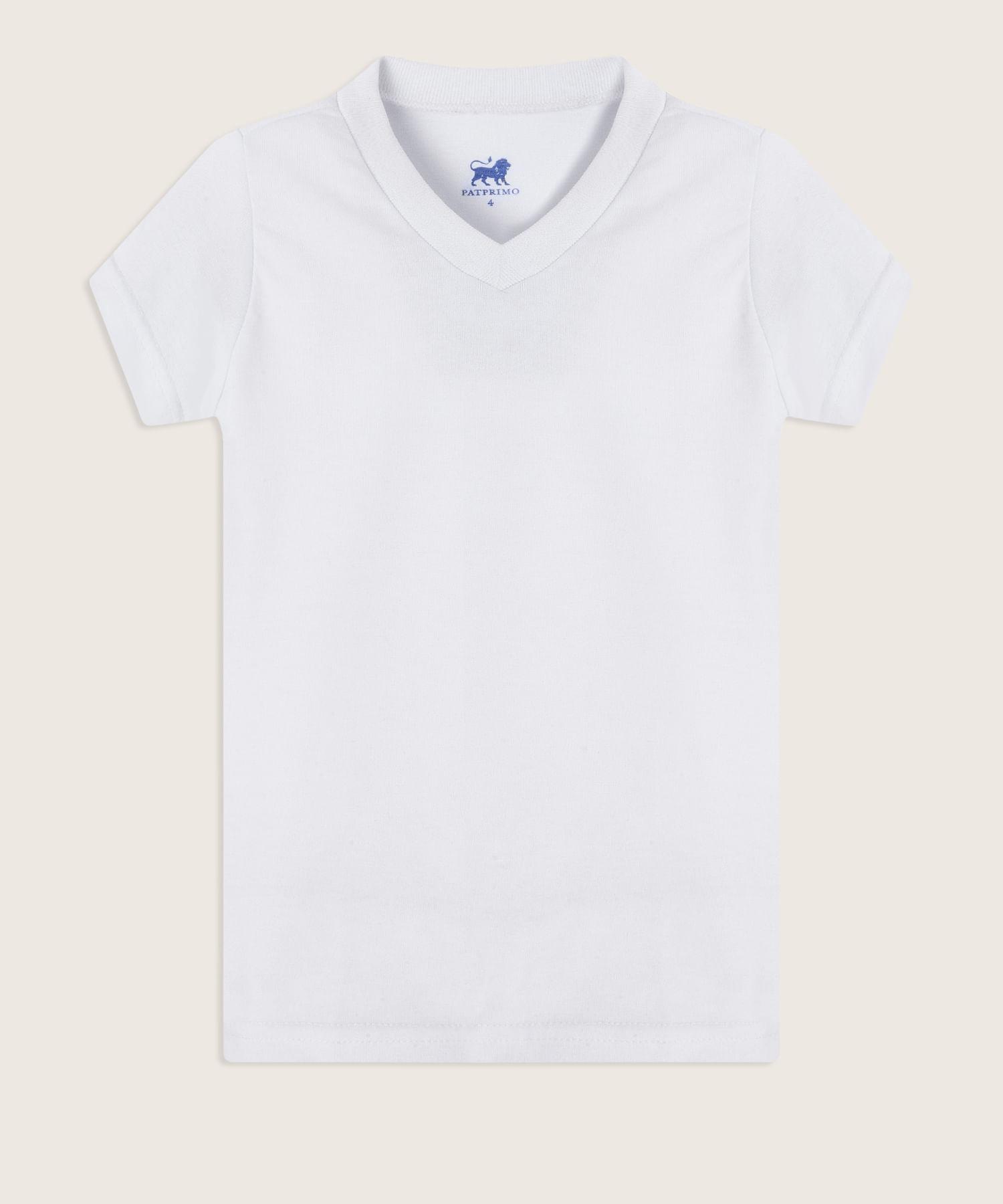1654ac046 Camiseta Interior Blanca Lisa 64020001 - Patprimo